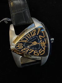 TECHNOMARINE Rare Limited Edition Stainless Steel Triangular Men's Watch - $4K Appraisal Value! ✓