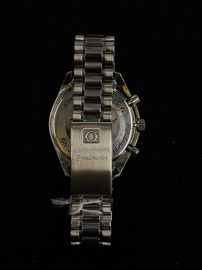 OMEGA Speedmaster Racing Michael Schumacher Limited Ed. #5914/6000 Stainless Steel Automatic - $15K Appraisal Value! ✓