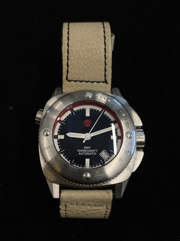 EMV Limited Ed. #106 Stainless Steel  Automatic 3300 Feet Diver's Watch - $6.5K Appraisal Value! ✓