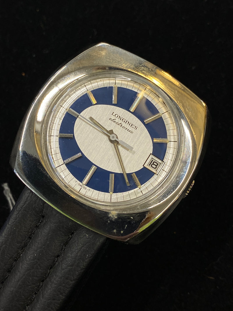 LONGINES Electronic Stainless Steel Art Deco Style 1960's Watch - $8K Appraisal Value! ✓