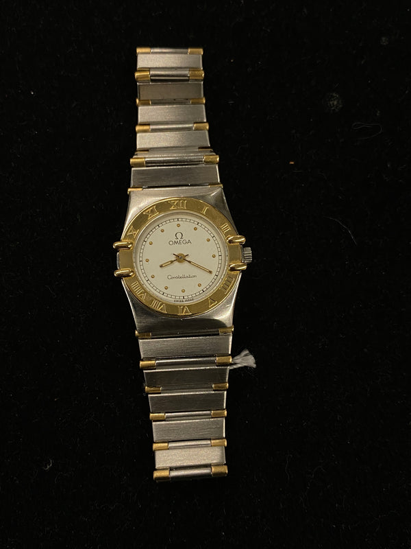 OMEGA Constellation Two-Tone 18K SS & YG Ladies Watch - $6.5K Appraisal Value! ✓