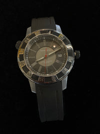 TIFFANY & CO. Deep Diving Chronometer Automatic Men's Watch w/ Exhibition Back - $8K Appraisal Value! ✓