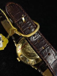 Movado for Tiffany & Co. 1950s Automatic Kingmatic 14KG Watch $14K Value w/ CoA