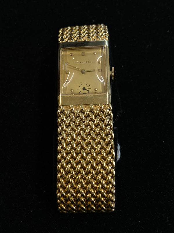 Tiffany & Co. 14KYG Men's Mechanical 1940s Watch $25K Value w/ CoA