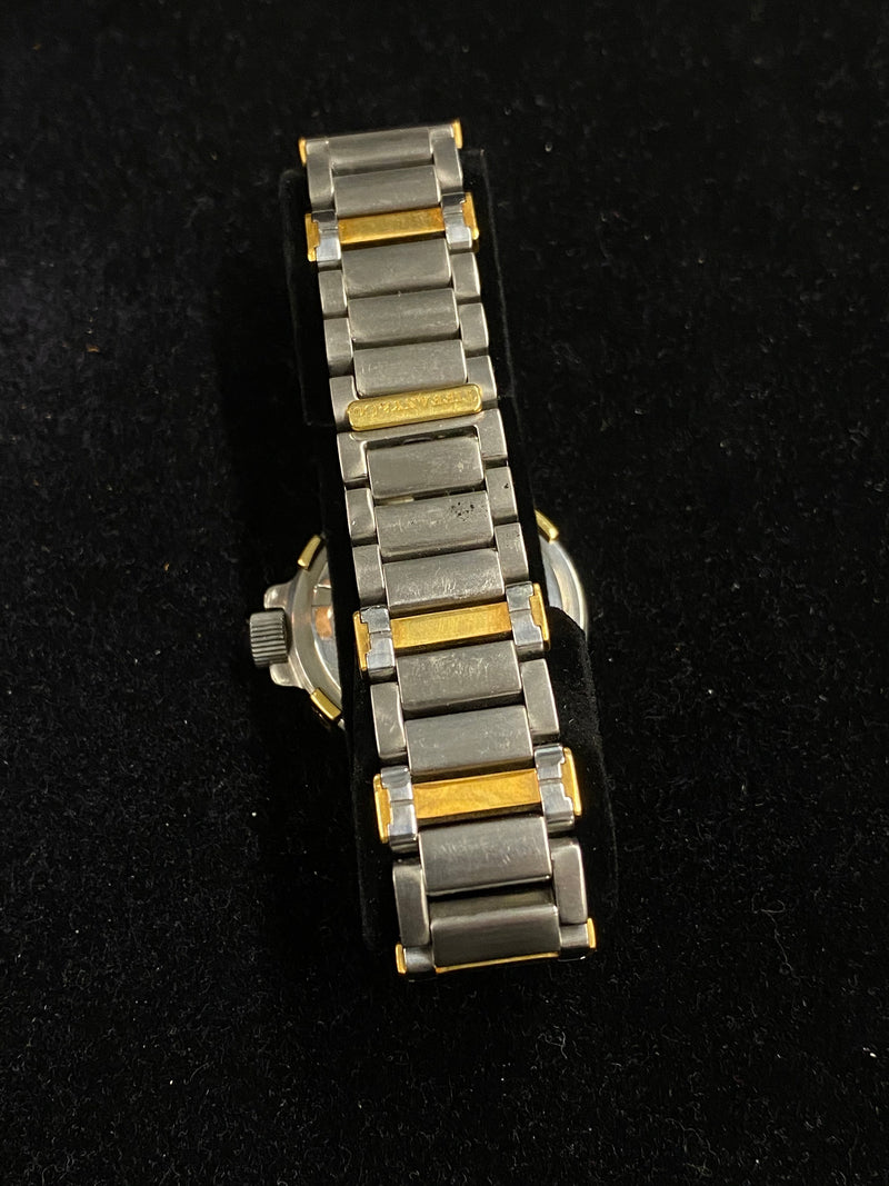 TIFFANY & CO. Two-Tone SS & YG Men's Mid Size Diving Quartz Watch - $10K Appraisal Value!