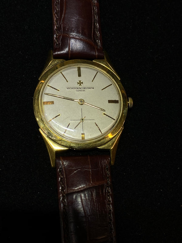 Vacheron Constantin 18KYG 1950s Mechanical Men's Watch Ref#6088 - $40K Value w/ CoA