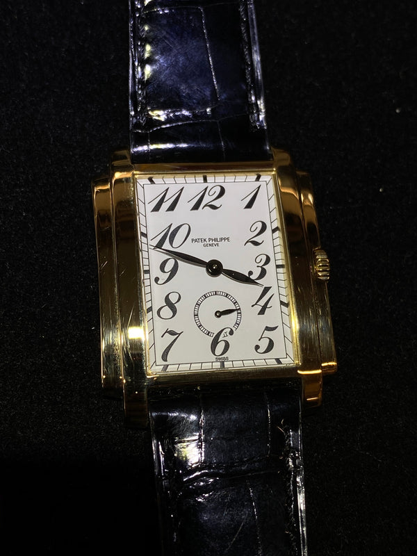Patek Philippe Jumbo Gondolo 18KYG Men's Mechanical Watch - $50K Value w/ CoA