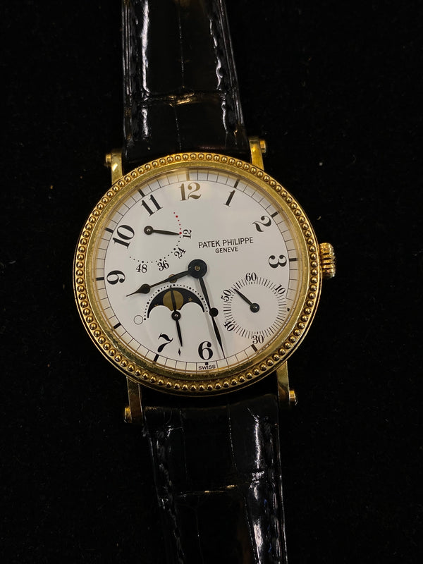 Patek Philippe Rare 18KYG Mechanical Watch Ref#5015 - $75K Value w/ CoA