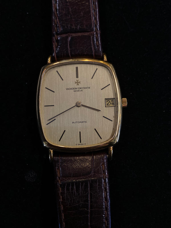 VACHERON CONSTANTIN Amazing Vintage 18K Yellow Gold Men's Automatic Watch - $40K Appraisal Value! ✓