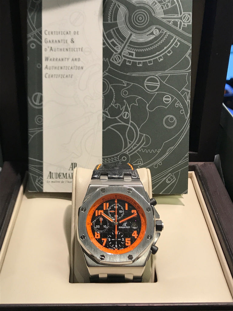 Audemars Piguet Royal Oak Offshore Limited Edition Orange Dial W/ Box & Papers!