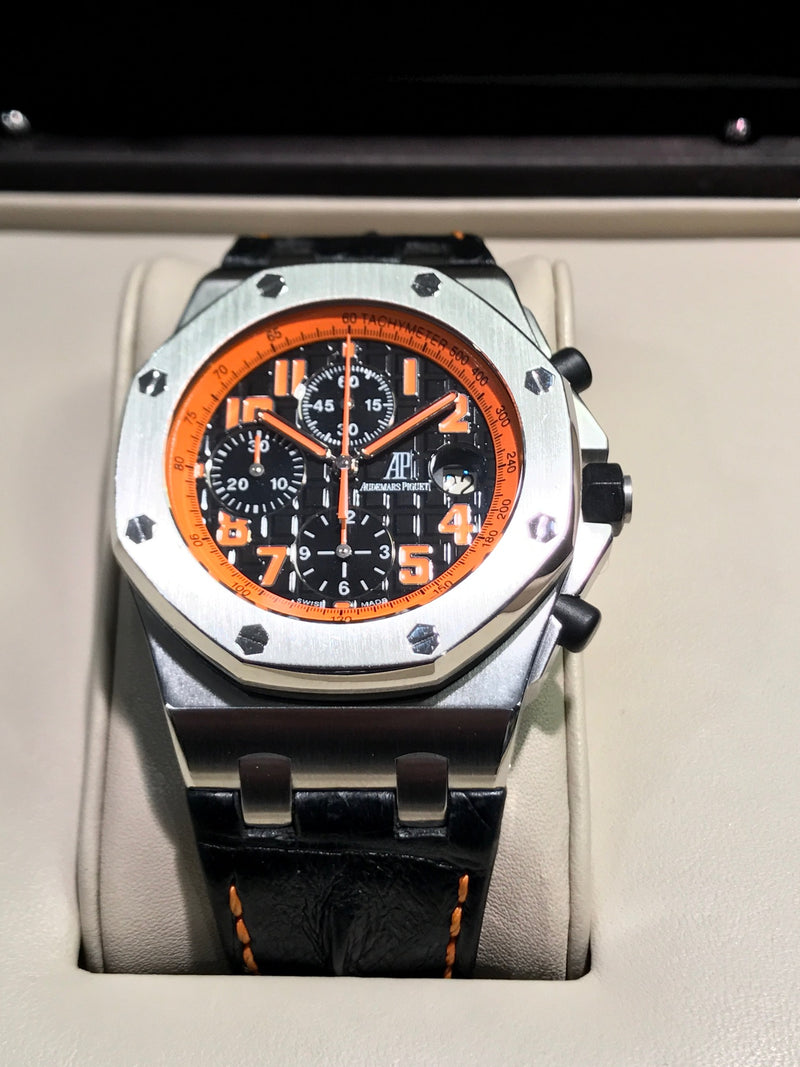 AUDEMARS PIGUET Royal Oak Offshore Limited Edition Orange Dial w/ Box & Papers! - $40K VALUE