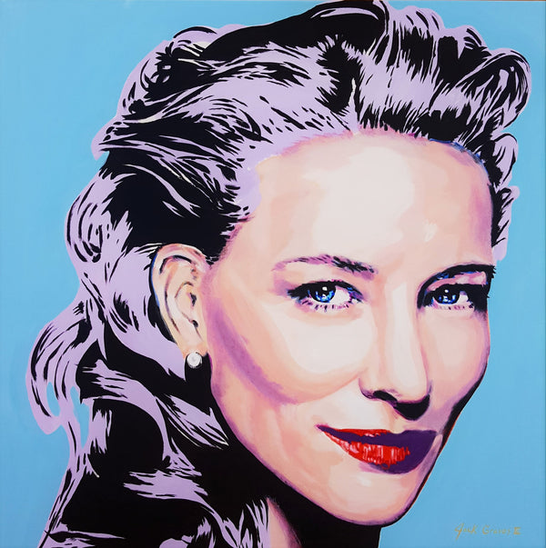 Jack Graves III, 'Cate Blanchett Icon II', Icon Series 2020 - Apr Value: $3.5K*