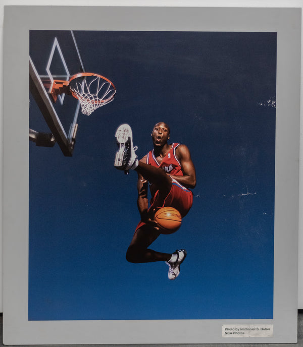 DANNY MANNING Rare LA Clippers 1988 Nathaniel Butler Photograph - $5K VALUE