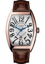 Franck Muller 18K RG 32mm Model 11002 M QZ 5N White