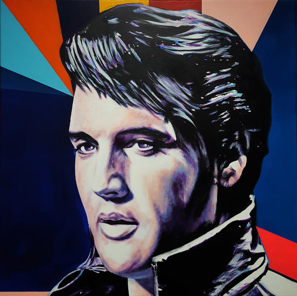 Jack Graves III, 'Elvis Presley Icon V', Icon Series 2019 - Apr Value: $3.5K*