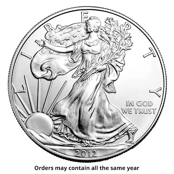 1 oz American Silver Eagle Coin (Random Year)