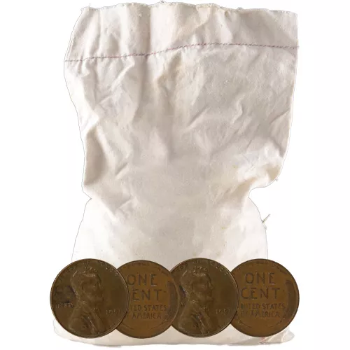 Wheat Pennies 1 Pound Mixed Bag