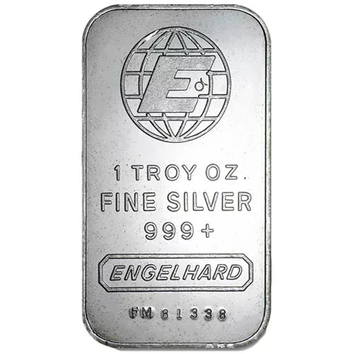 1 oz Engelhard Silver Bar (Secondary Market)