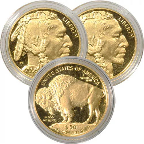 1 oz Proof American Gold Buffalo Coin (Random Year, Capsules Only)