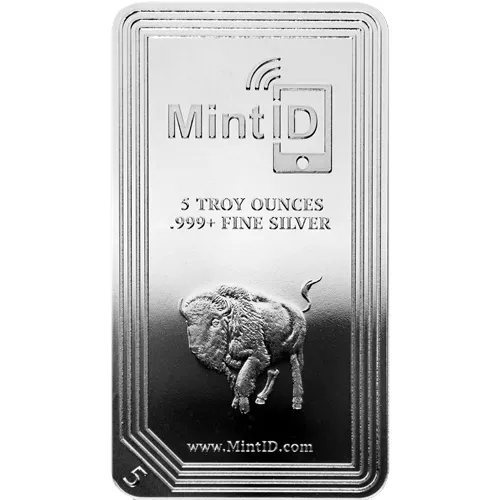 5 oz MintID Silver Bar (New)