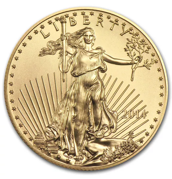 1/4 oz American Gold Eagle (Random Year)