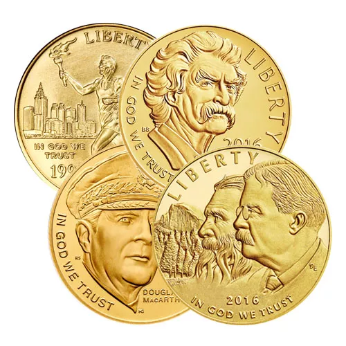 $5 US Mint Commemorative Gold Coin (BU or Proof)