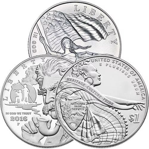 $1 US Mint Commemorative Silver Coin (BU or Proof)
