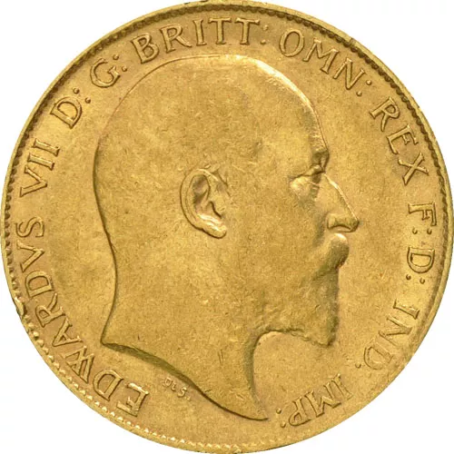 Great Britain Gold Sovereign Coin – King Edward