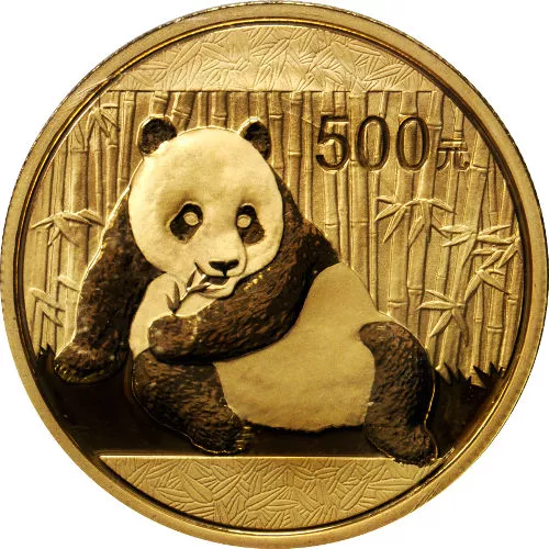 1 oz Chinese Gold Panda Coin (Random Year, Varied Condition)