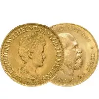 10 Guilders Gold Coin (Circulated)