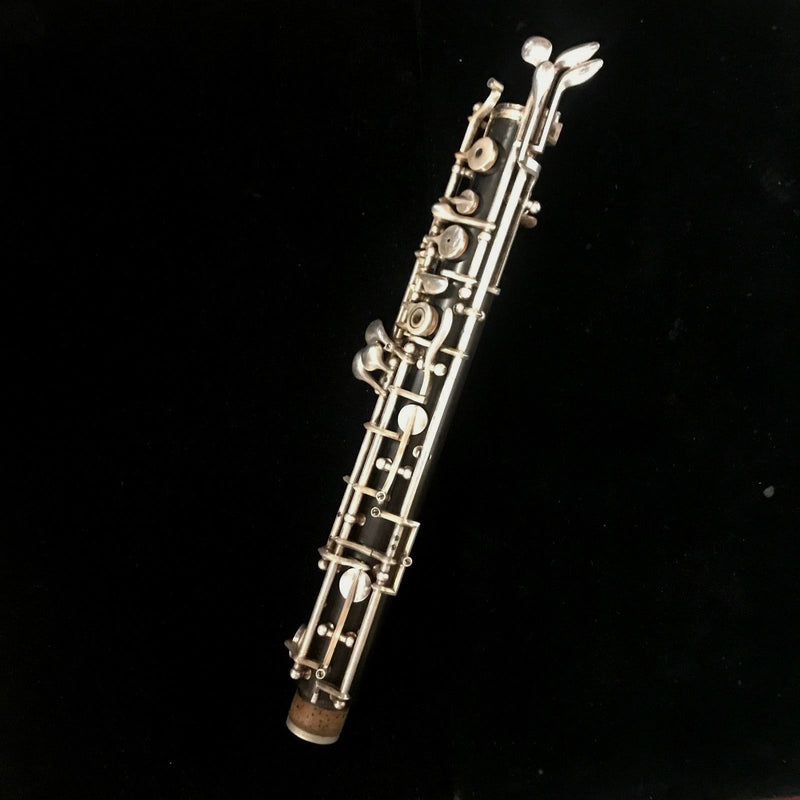 F. LOREE OBoe in Dark Brown w/ Orig Leather Case Serial #GZ-82 - $8K VALUE