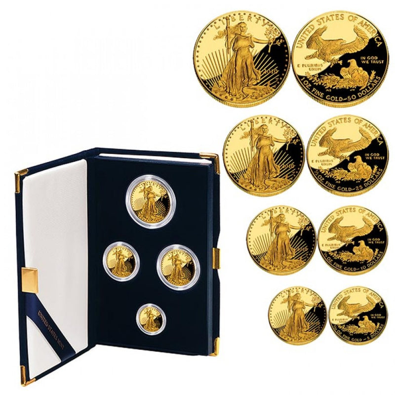American Eagle Gold Boxed Proof Set ✓