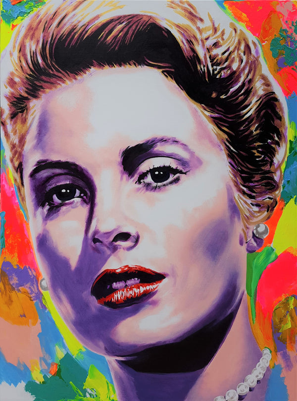 Jack Graves III, 'Grace Kelly Icon VI', Icon Series 2019 - Apr Value: $5K*
