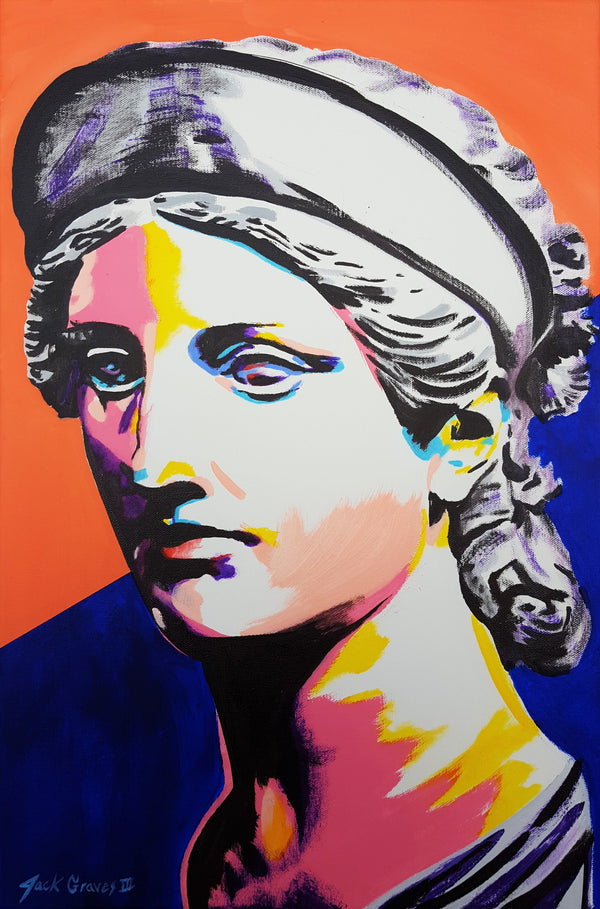 Jack Graves III, 'Greek Goddess Head Icon', Icon Series 2020 - Apr Value: $1K*
