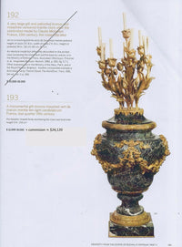 10-Light Candelabra Ex Sotheby's Gilt-Bronze France Candle Stick w/COA App.$40K