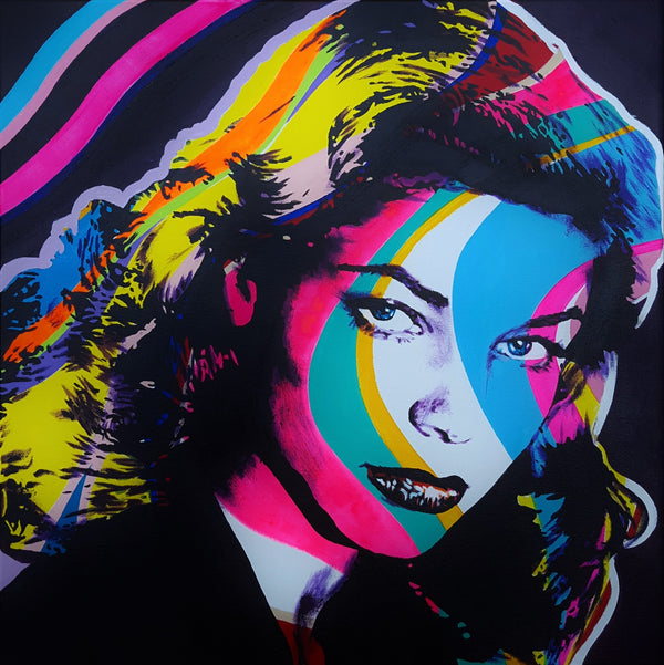 Jack Graves III, 'Lauren Bacall Icon II', Icon Series 2019 - Apr Value: $1.6K*