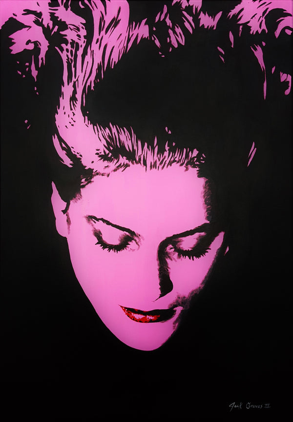Jack Graves III, 'Lee Miller Icon (Man Ray)', Icon Series 2020 - Apr Value: $3K*