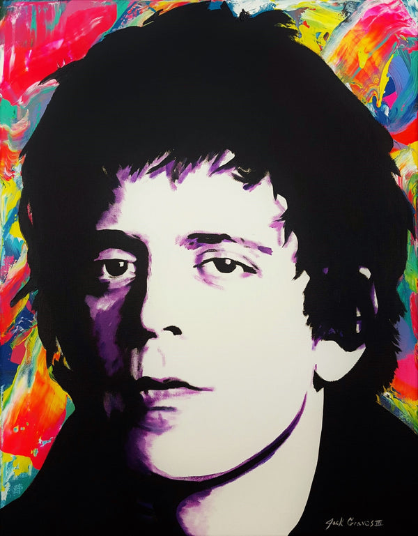 Jack Graves III, 'Lou Reed Icon', Icon Series 2020 - Apr Value: $1.8K*