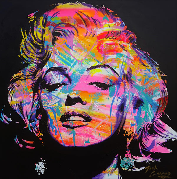 Jack Graves III, 'Marilyn Monroe Icon VI', Icon Series 2019 - Apr Value: $9K*