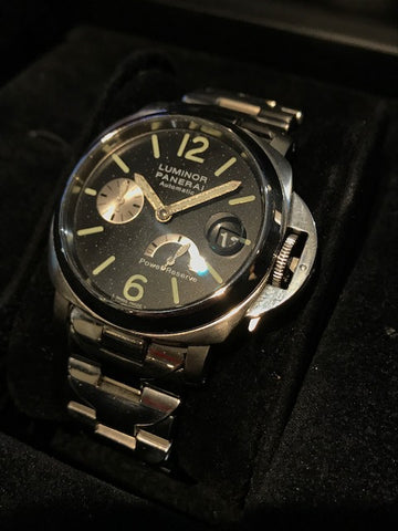 Panerai Luminor Limited Edition Automatic W/ Power Reserve SS - $15K VALUE!!!