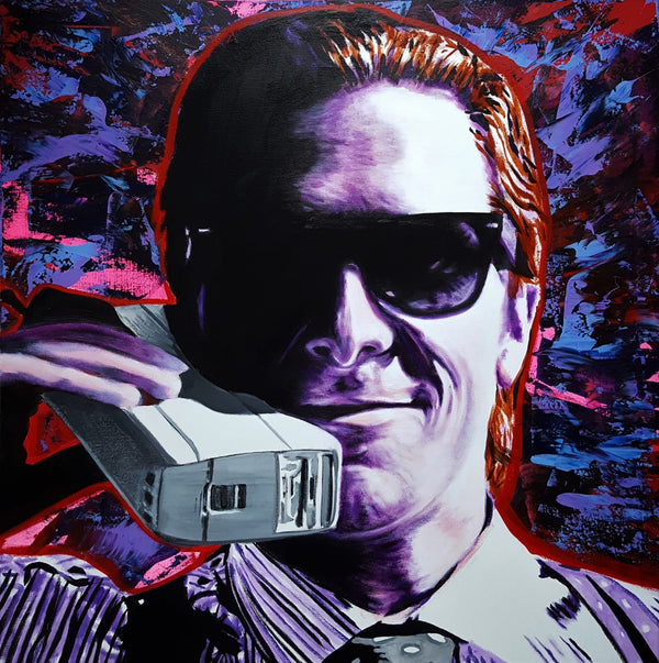 Jack Graves III, 'Patrick Bateman Icon (American Psycho)', Icon Series 2019 - Apr Value: $3.5K*