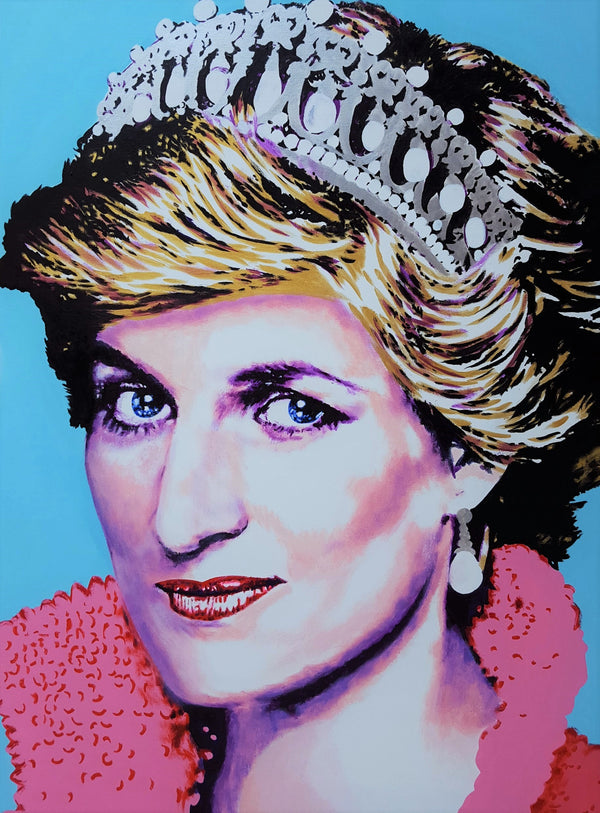 Jack Graves III, 'Princess Diana Icon III', Icon Series 2019 - Apr Value: $5K*