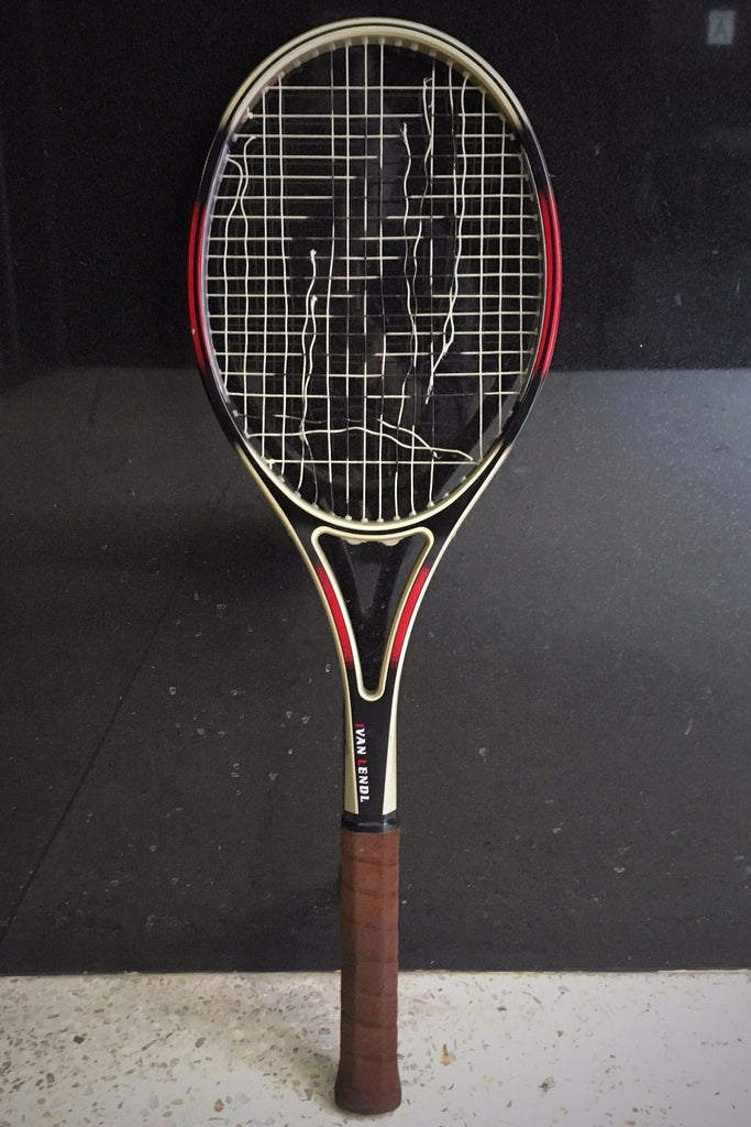 Signed Limited Edition Ivan Lendl Custom Made Tennis Racket by Mizuno 1991 - $10K VALUE