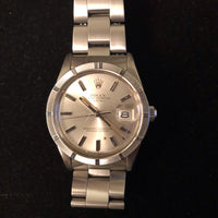 ROLEX Classic Men's 1980's Oyster Perpetual Automatic in SS - $10K VALUE w/ CoA!