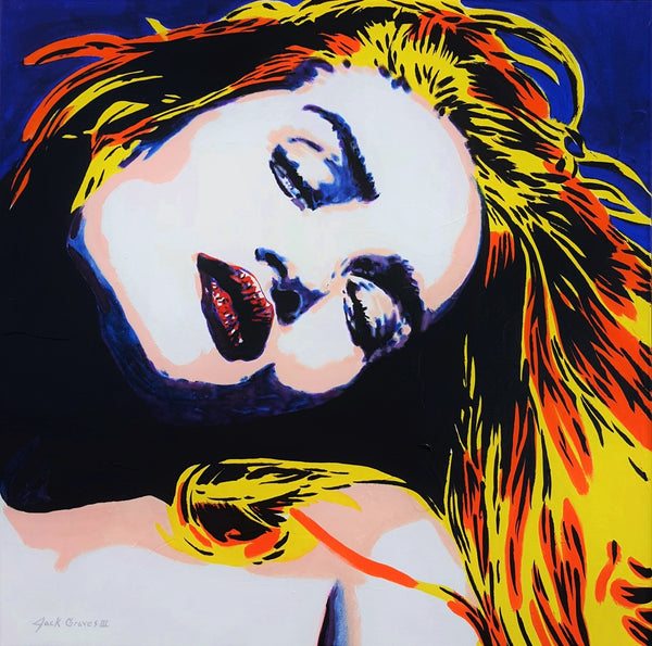 Jack Graves III, 'Rosie Huntington - Whitely Icon III', Icon Series 2020 - Apr Value: $3.5K*