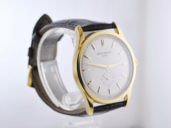 PATEK PHILIPPE Vintage 1950's Classic 18K Yellow Gold Large Men's Watch - $45K Appraisal Value! ✓