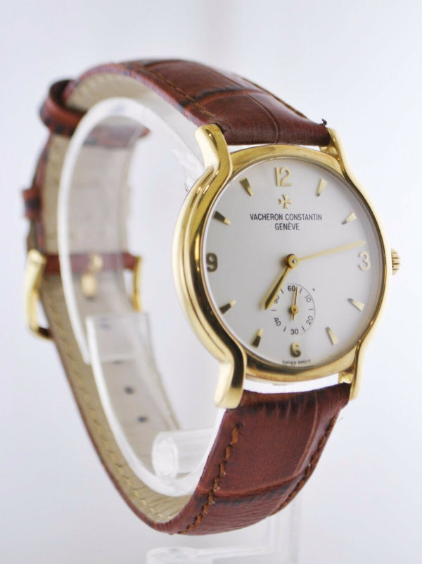 VACHERON CONSTANTIN Contemporary 18K Yellow Gold Unisex Mechanical Watch - $40K Appraisal Value! ✓