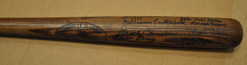 1940s Extremely Rare Collectible Negro League Bat with 26 All-Star Signatures - $30K VALUE