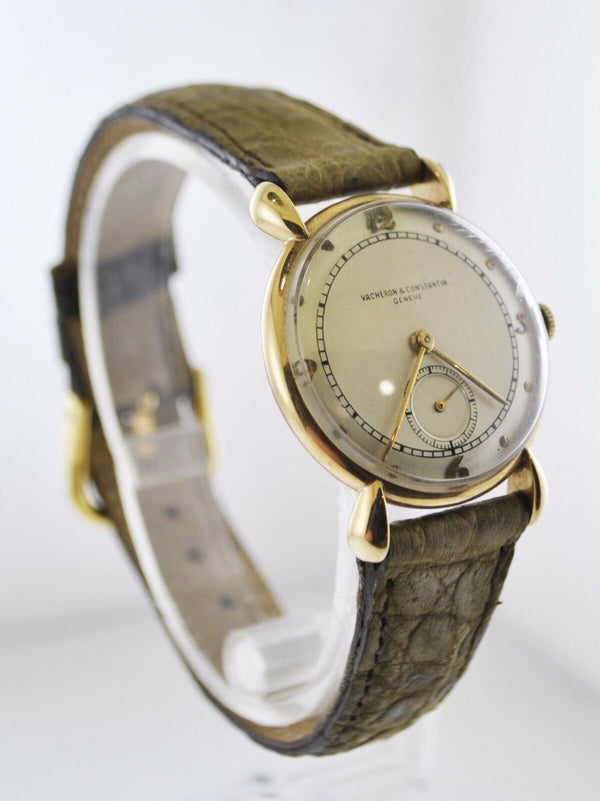 VACHERON CONSTANTIN Vintage 1950s Gold Unisex Wristwatch - $25K Appraisal Value! ✓