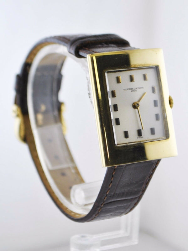 VACHERON CONSTANTIN Vintage 1950's Art Deco Style 18K Yellow Gold Watch - $50K Appraisal Value! ✓